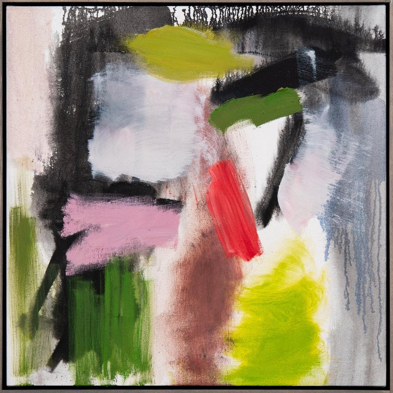 Scott Pattinson Abstract Painting - Familiar Routes