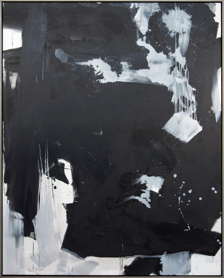Scott Pattinson Abstract Painting - Hvodjra No 14