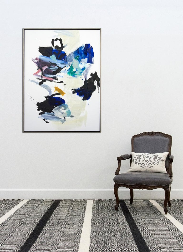 Hvodjra No 21 - Abstract Painting by Scott Pattinson