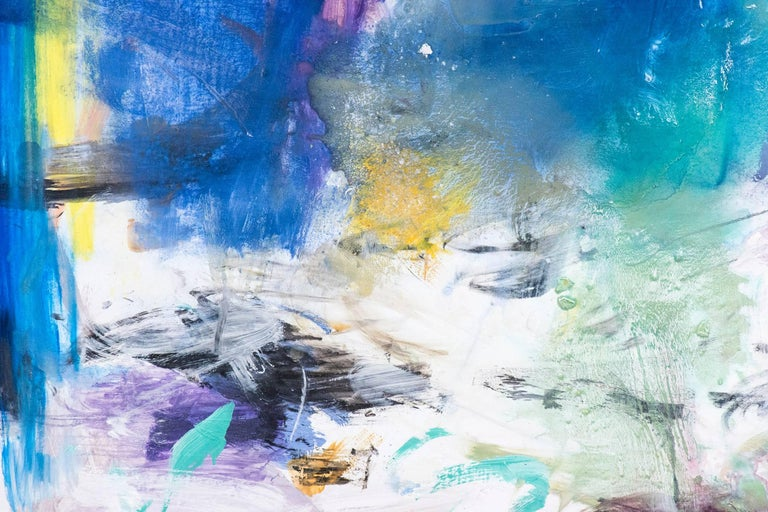 Ouvert No 41 - Abstract Painting by Scott Pattinson