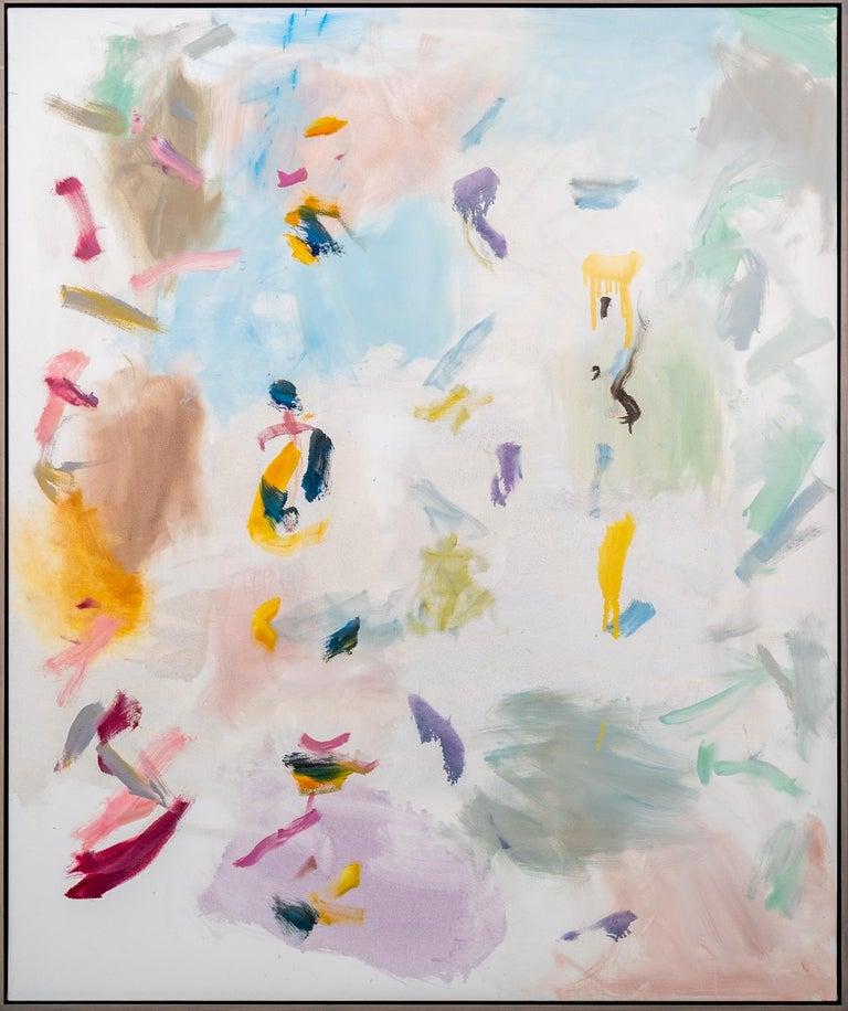 Scott Pattinson Abstract Painting - Platform