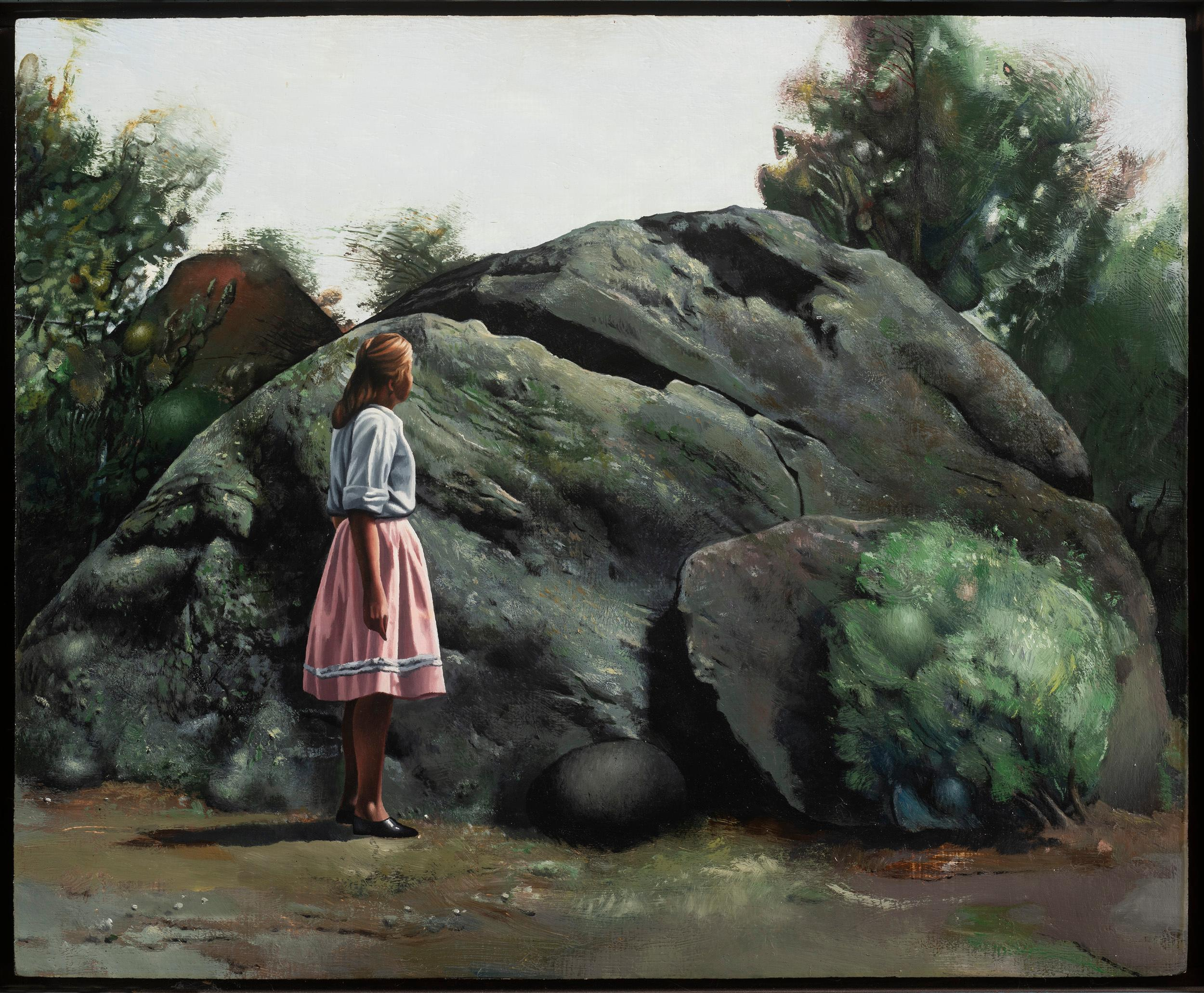 Woman and Rock, 1975
