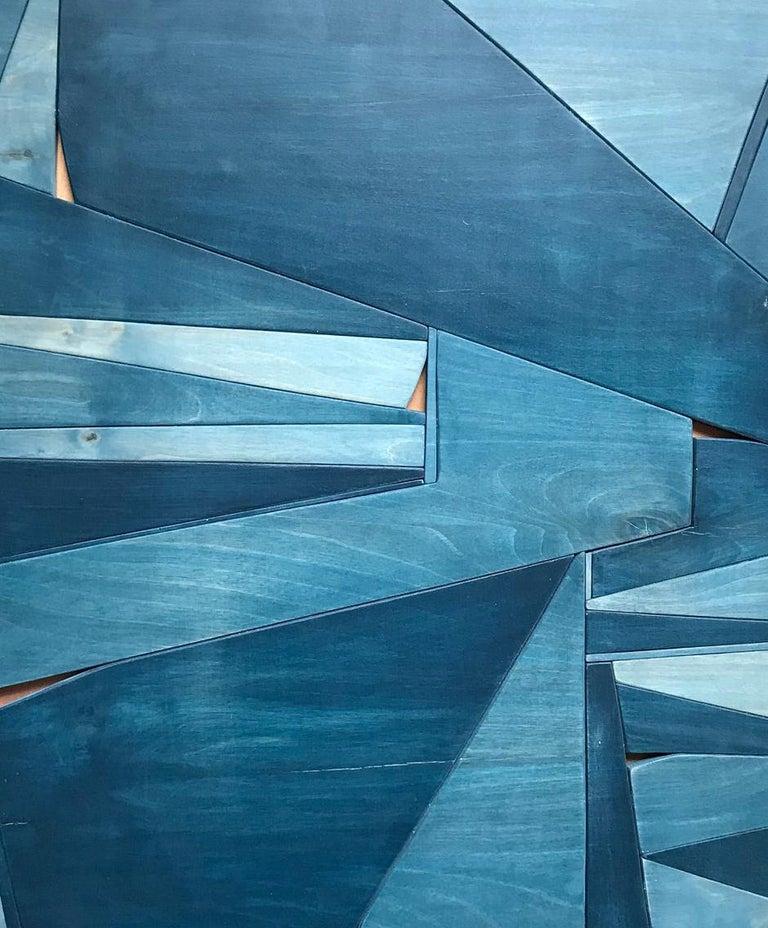 Denim - Sculpture by Scott Troxel