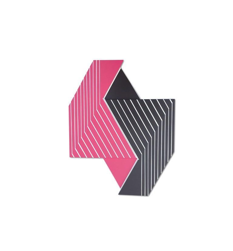 Oculus 7 (modern abstract wall sculpture minimal geometric design Frank Stella) For Sale 1