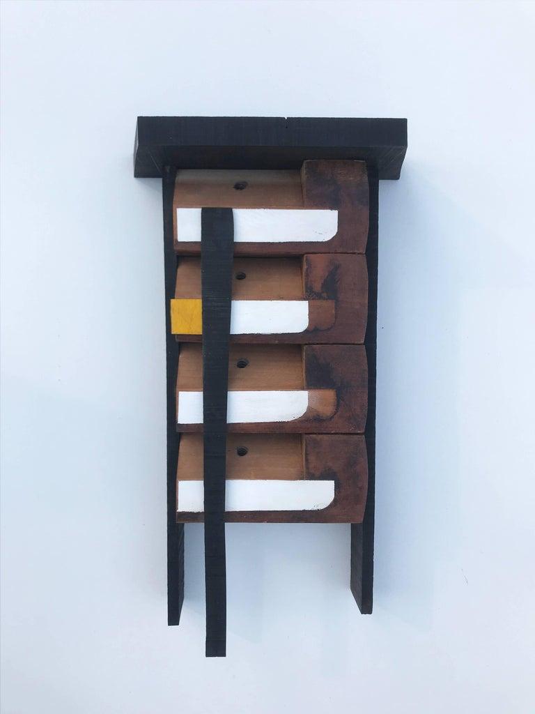 Pagoda - Minimalist Mixed Media Art by Scott Troxel