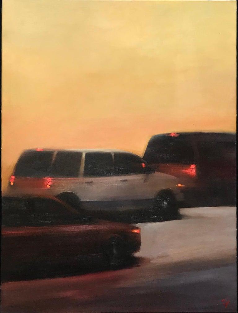 Scott Yeskel Landscape Painting - Exodus 2