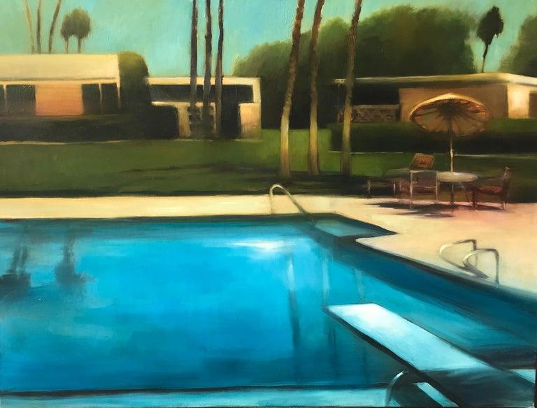 Scott Yeskel Landscape Painting - Palm Desert