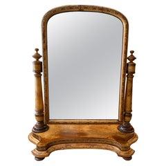 Scottish Cheval Table Dressing Mirror