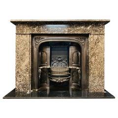 Scottish Early 19th Century Georgian Ashburton Marble Fireplace Surround