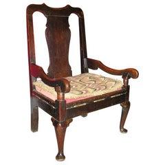 Scottish Fireside Lambing Chair, circa 1760