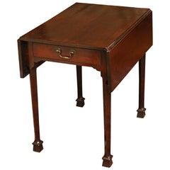 Scottish George III Laburnum Pembroke Table