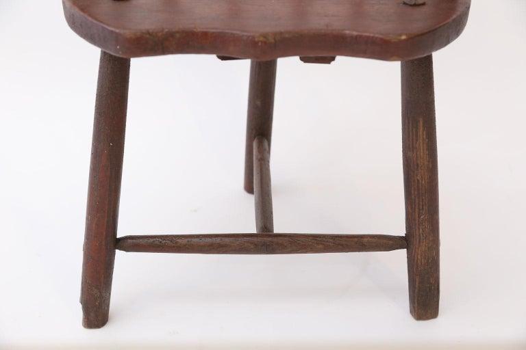 Scottish Horseshoe Back Chair For Sale 4