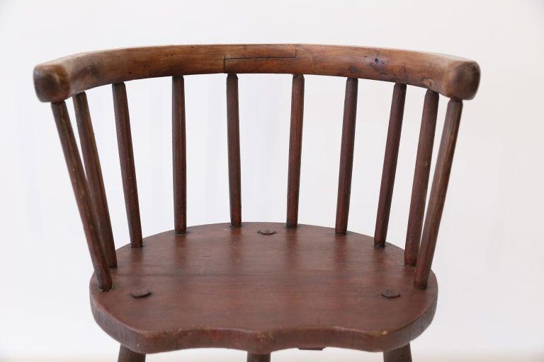 Scottish Horseshoe Back Chair For Sale 2