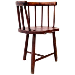 Scottish Horseshoe Back Chair