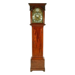 Scottish Mahogany Grandfather Clock, 18th Century