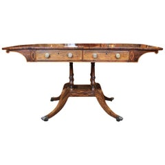 Scottish Regency Sofa Table