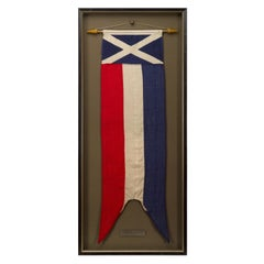 Scottish Saltire Coronation Pennant, 1950s