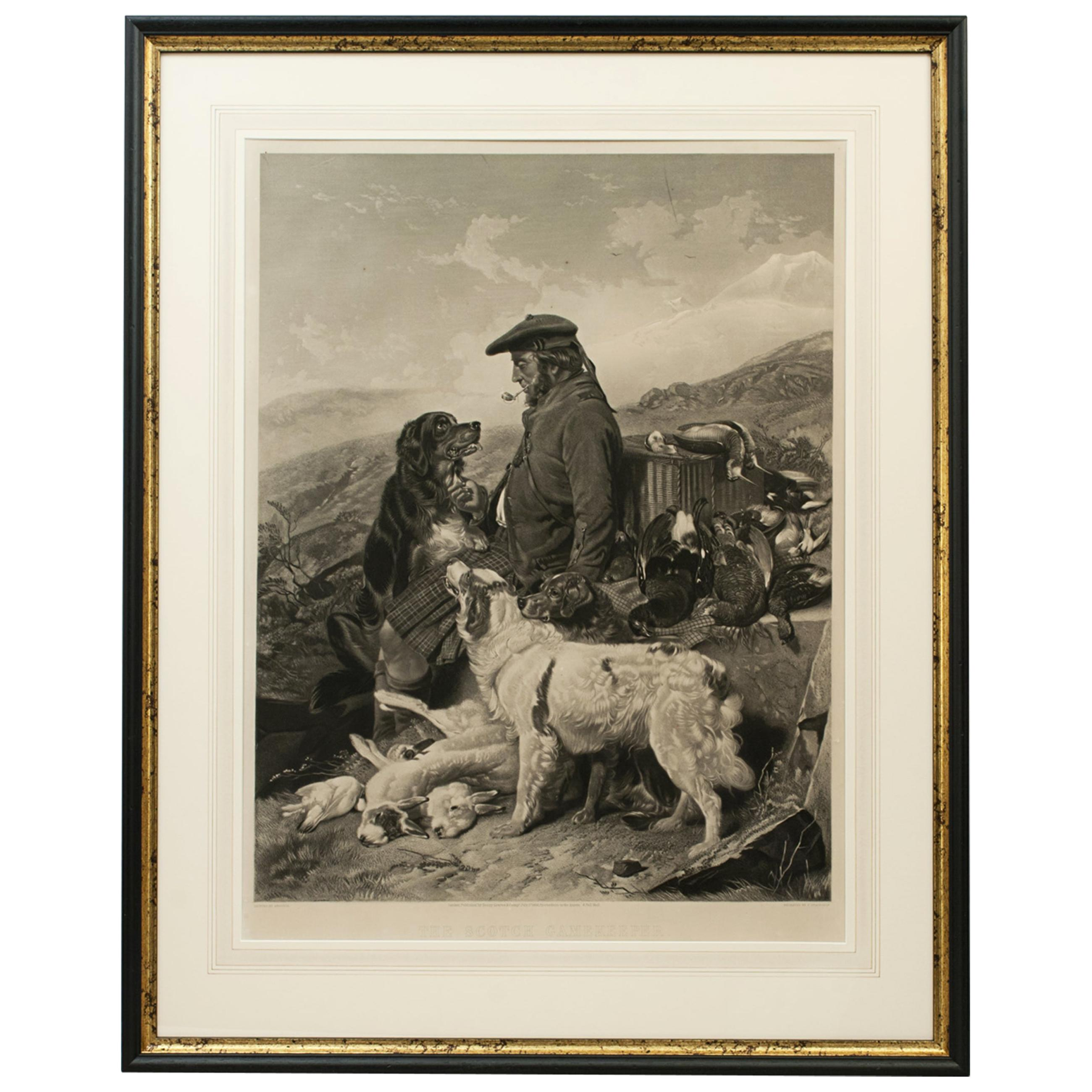 Scottish Shooting Picture, Scottish Gamekeeper by Richard Ansdell