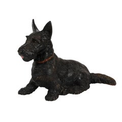 Scottish Terrier Iron Doorstop