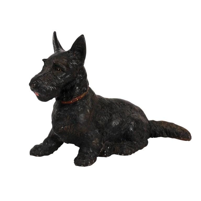 Scottish Terrier Iron Doorstop