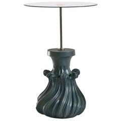 Scoubidou Blue Tall Side Table
