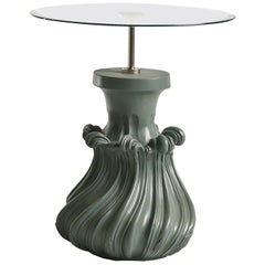 Scoubidou Green Side Table