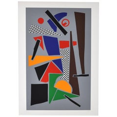 Screen Print by Robert Jacobsen, Untitled, 1980s, Signed