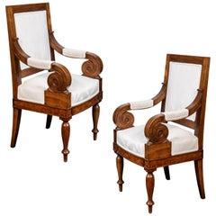 Scroll Arm, Naples Chairs, circa 1920