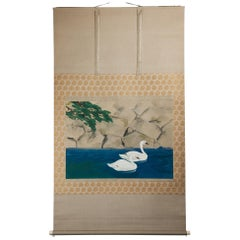 Scroll Painting Japanese First Half of the 20th Century by Kano Sanraku