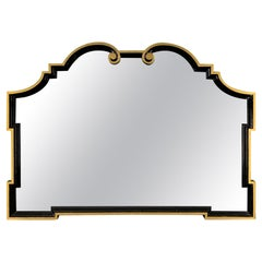 Scroll Wall Mirror after Dorothy Draper