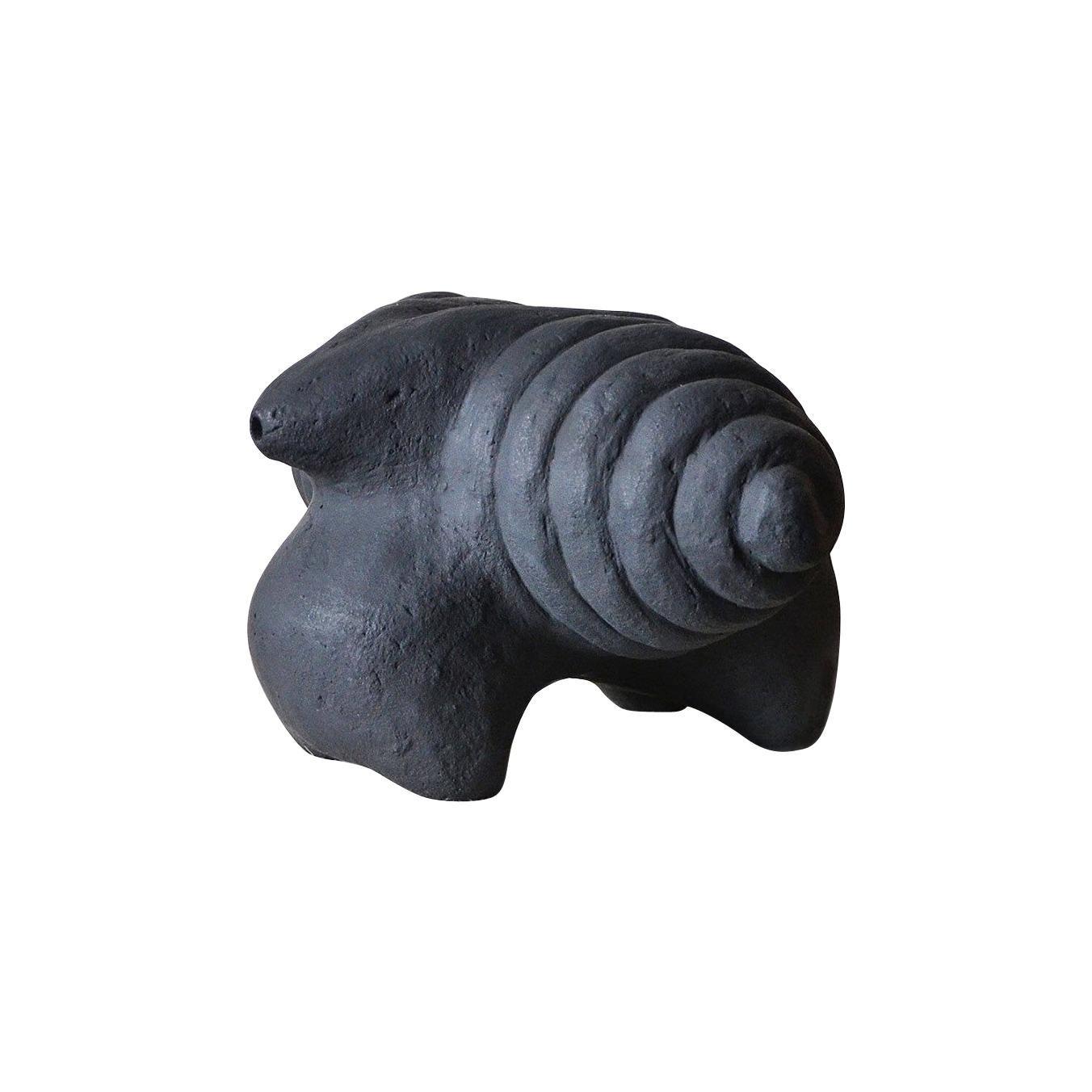Sculpted Ceramic Vase by FAINA