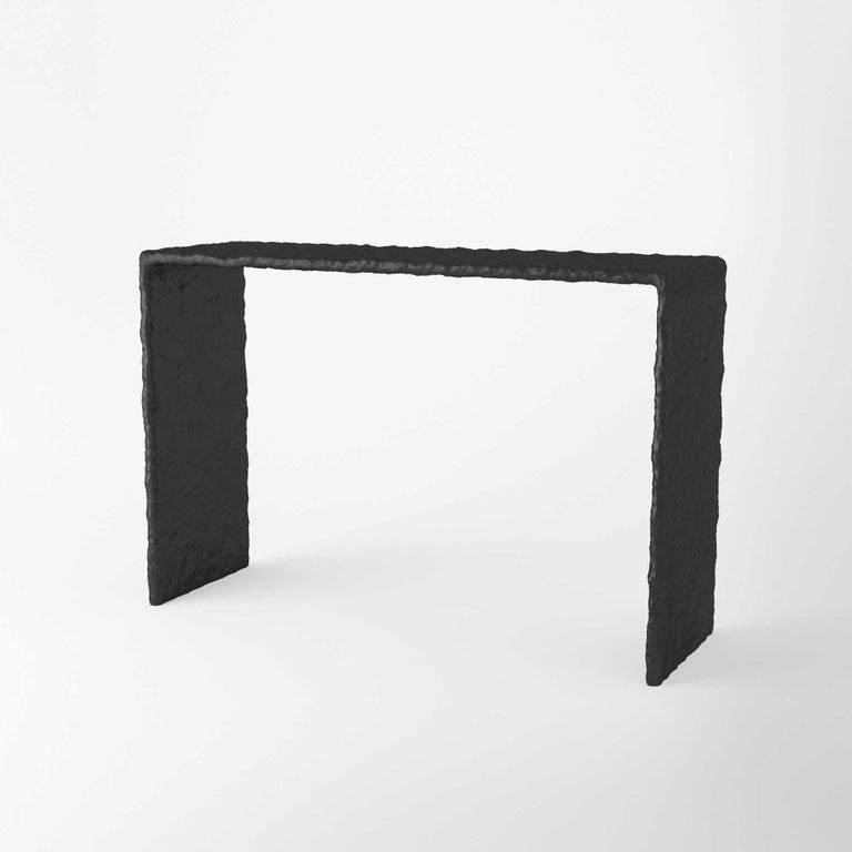 Ukrainian Sculpted Contemporary Console Table by FAINA For Sale