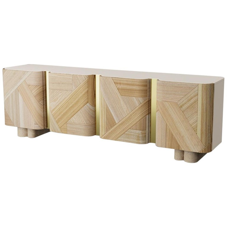 Sculpted Contemporary Sideboard by Dooq For Sale