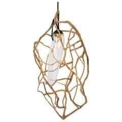 "Sculpted Lighting Pendant by Jérôme Pereira ""Planck Longiligne"""