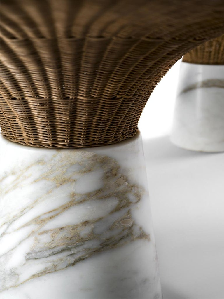 Modern Sculpted Marble