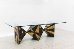 Sculpted Metal Dining Table (no. PE21)