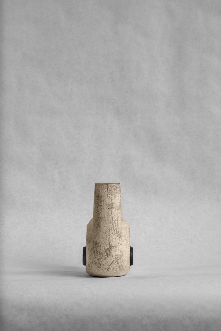 Sculpted Pair of Ceramic Vases by FAINA 6