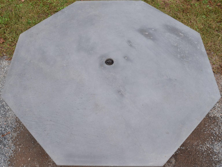 Mid-Century Modern Sculptura Table in Slate For Sale