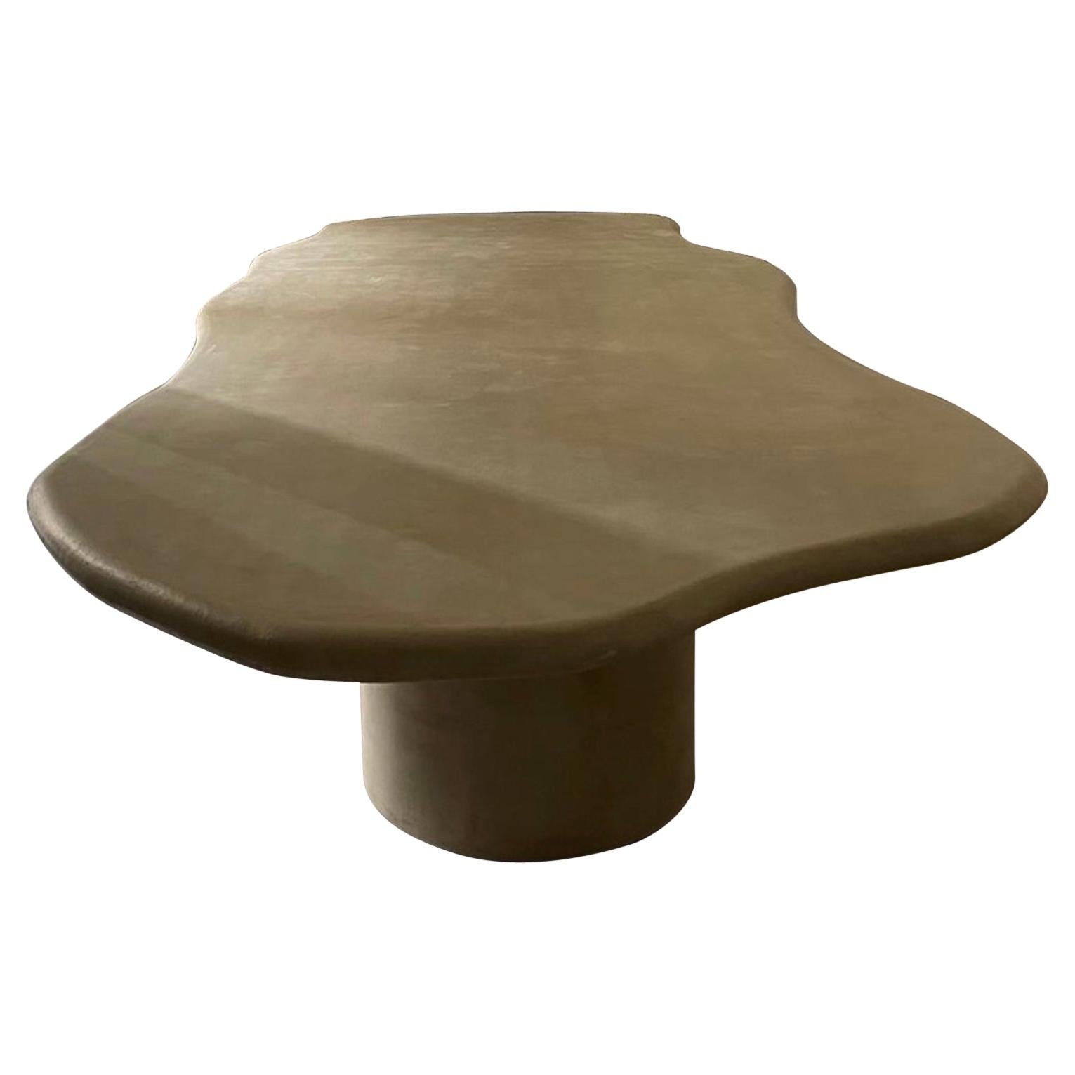 Sculptural 2 Legs Dining Table 200 by Urban Creative
