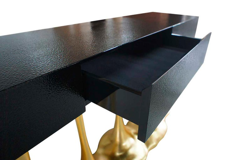 Lacquered Sculptural and Luxurious