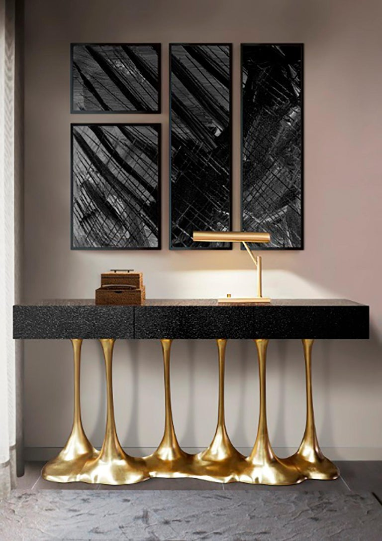 Sculptural and Luxurious