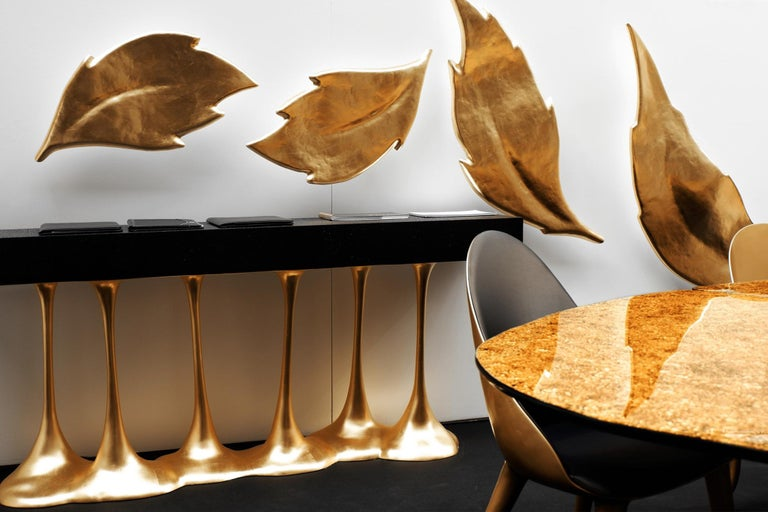Contemporary Sculptural and Luxurious