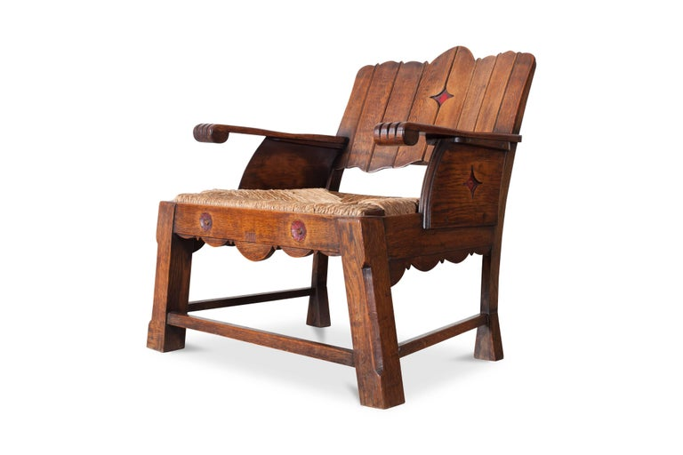 Stunning easy chair from late 19th-early the 20th century.