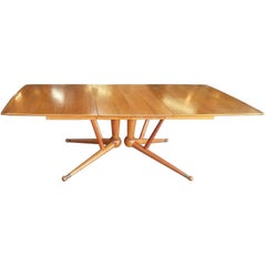 Sculptural Atomic Base Dining Table