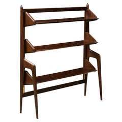 Sculptural Bookcase in the Manner of Ico Parisi