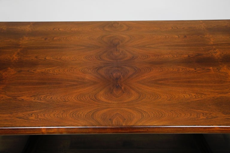 Sculptural Brazilian Rosewood Dining Table by Novo Rumo, Brazil, 1960s  For Sale 5