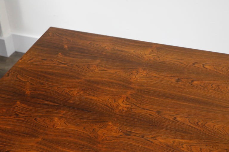 Sculptural Brazilian Rosewood Dining Table by Novo Rumo, Brazil, 1960s  For Sale 14