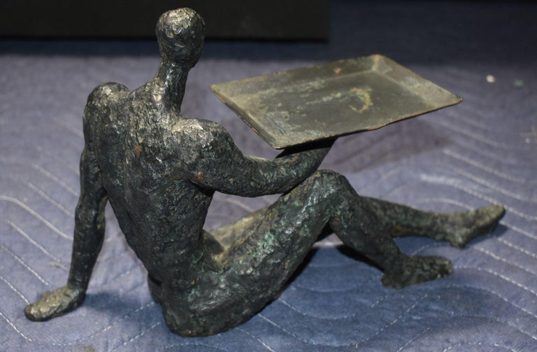 Sculptural Business Card Holder In Good Condition For Sale In Los Angeles, CA