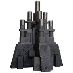 Sculptural Candleholder by Christian Caulas