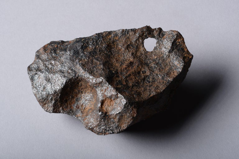 Sculptural Canyon Diablo Iron Octahedrite Meteorite For Sale 5